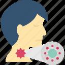 coronavirus, coughing, man, spread icon