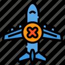 airplane, transportation, stop, travel, plane