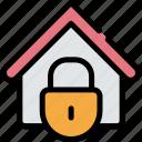 coronavirus, home, lockdown, quarantine icon