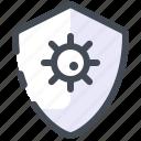 protection, virus, shield, security, infection, coronavirus, covid icon