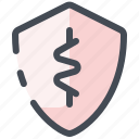 protection, virus, shield, security, medicine, coronavirus, covid icon