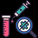 coronavirus, covid, medical, no, syringe, vaccine icon