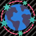 coronavirus, covid, diffuse, disease, earth, epidemic, pandemic