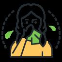 runny nose, sneezing, symptom, tissue icon