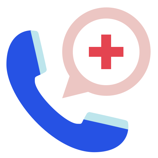 call, doctor, hospital icon