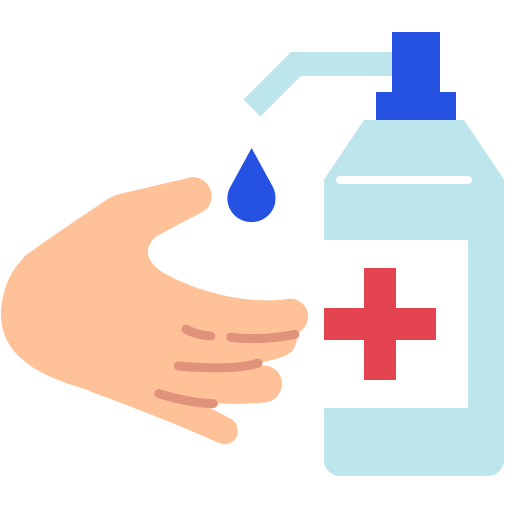 coronavirus, covid19, hands, soap, wash icon