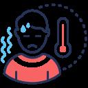 coronavirus, fever, symptom, temperature icon