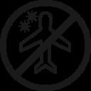 airport, caution, coronavirus, flight, plane, transportation, warning