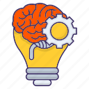 brainstorm, brainstorming, creativity, idea icon