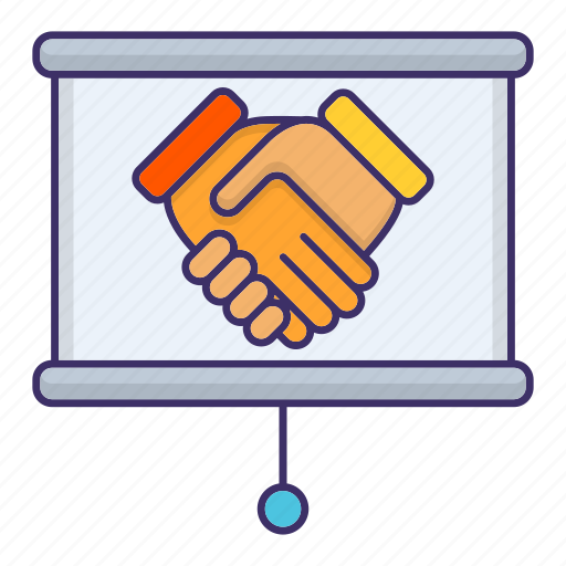 Contract, corporate, deal, handshake, partneship icon - Download on Iconfinder