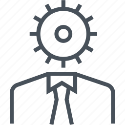 efficiency, gear, planning, productivity, progress, work icon