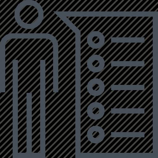 abilities, business, commerce, development, employee, skills icon
