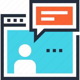 communication, consulting, customer, online, service, support, talk icon
