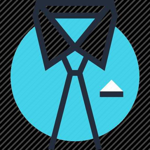 business, clothes, collar, necktie, staff, tie, wear icon