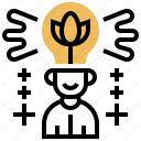 concentrate, focus, idea, intelligence, motivation icon