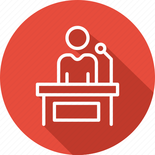 business, conference, modern, room icon