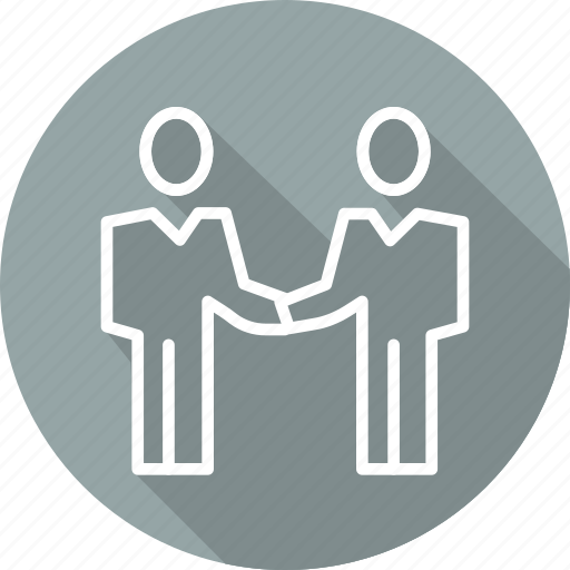 business, cooperation, modern, partnership icon