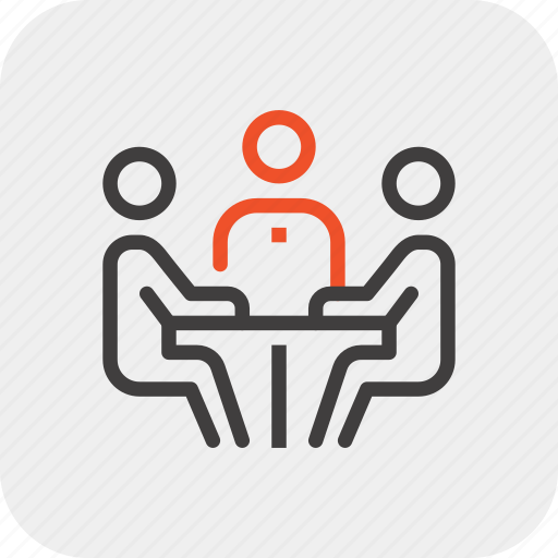 Business, businessman, conference, discussion, meeting, people, team icon - Download on Iconfinder