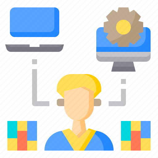 brainstorming, communication, conference, diversity, knowledge, office, working icon