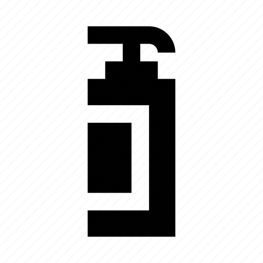 bottle, clean, clear, cosmetics, soap icon