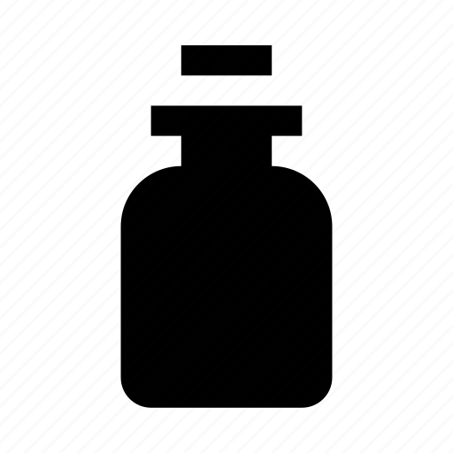 bottle, cosmetics, flask, oil icon