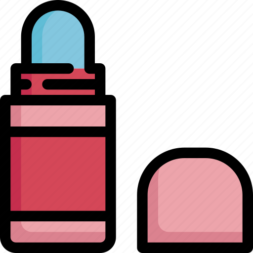 beauty, cosmetic, cosmetics, hygiene, makeup, on, roll icon
