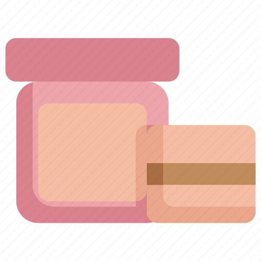 beauty, cosmetic, cosmetics, face, makeup, powder icon