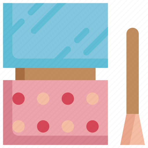 beauty, brush, cosmetic, cosmetics, hygiene, makeup, palette icon