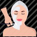 face glow, face massage, face treatment, facial, salon service