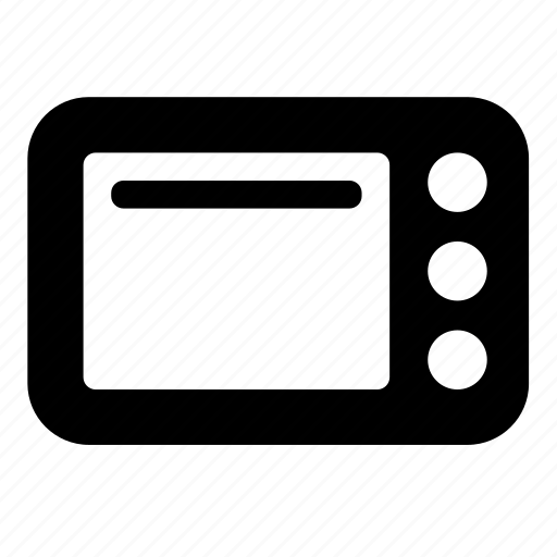 appliance, kitchen, microwave icon