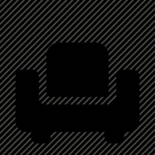 armchair, furniture, interior icon