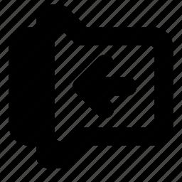 left, slide, toggle icon
