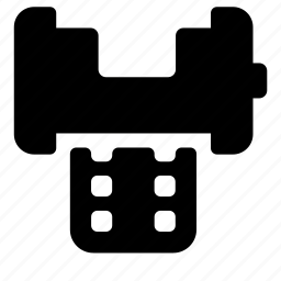 photo, reel icon