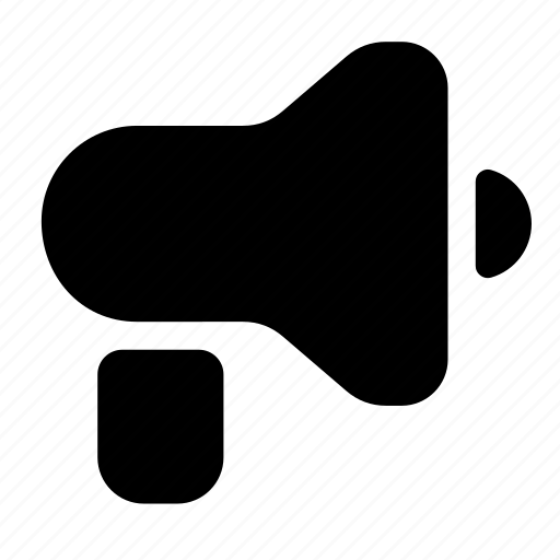 advertising, megaphone, news icon
