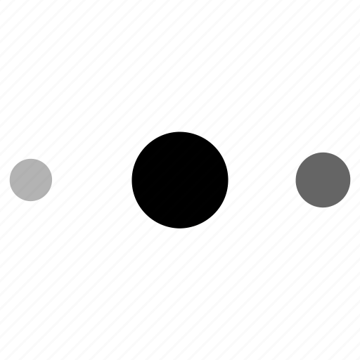 dots, settings icon
