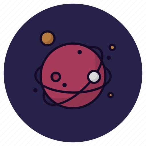 Planet, astronomy, cosmos, global, satellite, space, universe icon - Download on Iconfinder