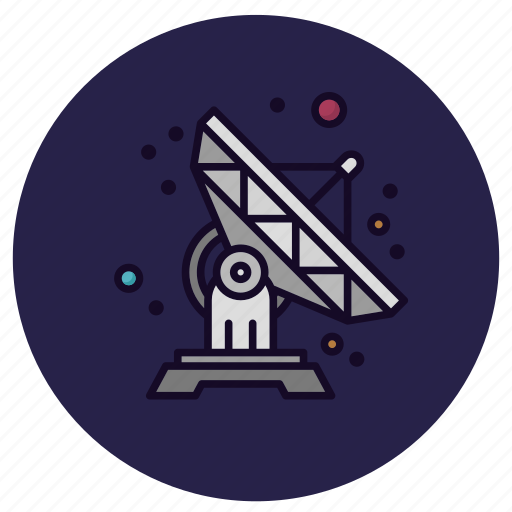 antenna, astronomy, communication, connection, satellite dish, signal, wireless icon