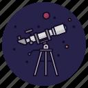 telescope, astronomy, planet, sky, stargazing, stars, view