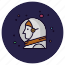 astronaut, astronomy, launch, nasa, spacecraft, spaceman, spaceship icon