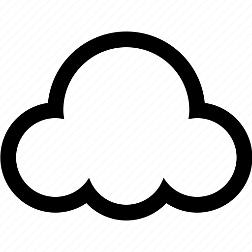 atmosphere, cloud, nature, sky, weather icon