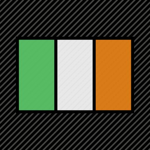 europe, flag, flags, globe, ireland, irish, world icon