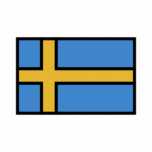 europe, flag, flags, scandinavia, sweden, swedish, world icon