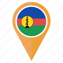 caledonia, country, flag, location, navigation, new icon