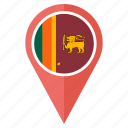 country, flag, lanka, nation, national, navigation, sri icon