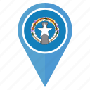 country, flag, location, nation, navigation, the northern mariana islands icon