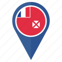 country, direction, location, map, navigation, pin, wallis and futuna icon