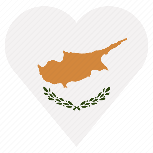 country, cyprus, flag, location, nation, navigation, pin icon