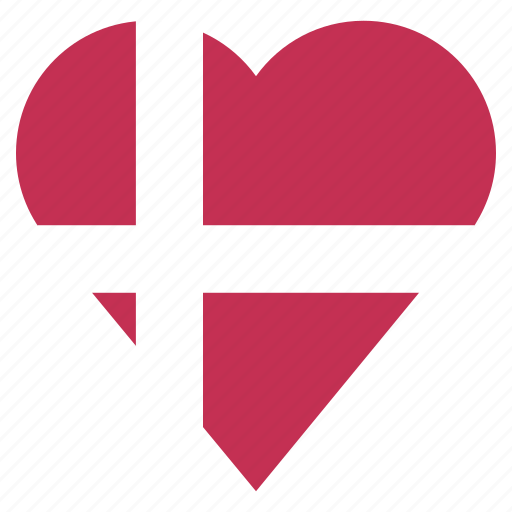 country, denmark, flag, location, nation, navigation, pin icon