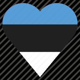 country, estonia, flag, location, nation, navigation, pin icon