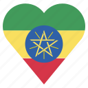 pin, country, nation, ethiopia, flag, location, navigation